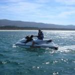 Excursiones en moto de agua por la Ría de Arosa
