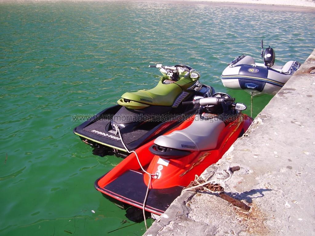 Turismo y rutas en motos de agua por la Ria de Arosa