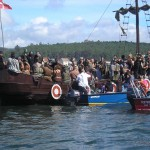Mucho fun en Romería Vikinga de Catoira