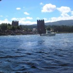 Desembarco Romería Vikinga de Catoira
