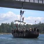 Romería Vikinga de Catoira por el Rio Ulla