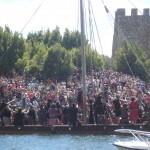 La Romería Vikinga de Catoira es mucho